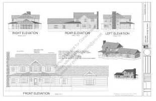 h212 country 2 story porch house plan blueprints construction drawings sds plans