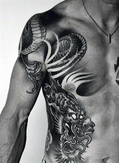 chinese dragon tattoo designs for men 50 designs for flaming ink ideas