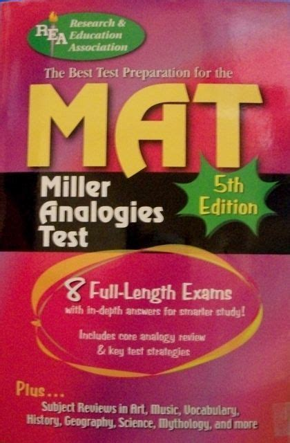Preparing For The Mat by The Best Test Preparation For The Mat