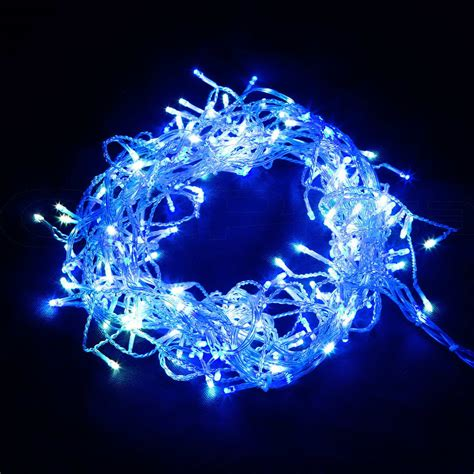 800 led christmas icicle lights string outdoor fairy party