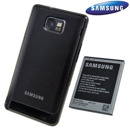 genuine samsung extended battery kit  galaxy  mah