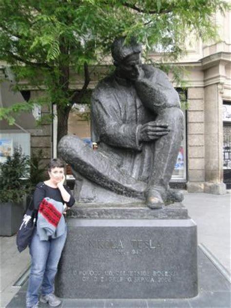 Tesla Monument Nikola Tesla Statue Zagreb Picture Of Nikola Tesla