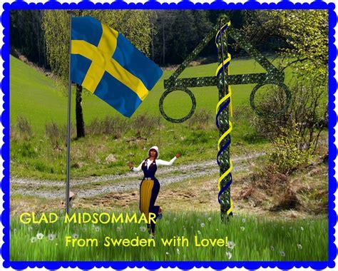 glad midsommar sweden images