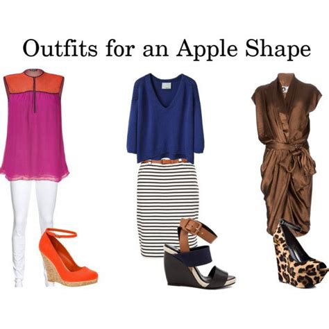 hairstyles for woman who have an apple shape outfits for an apple shape by missydamon on polyvore