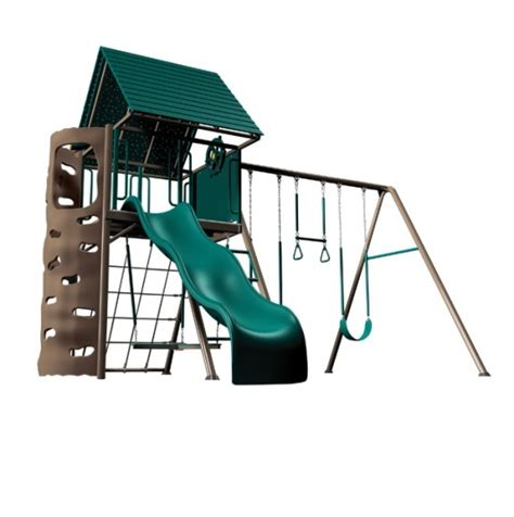 lifetime swing set lifetime 90042 playground swing set on sale with fast