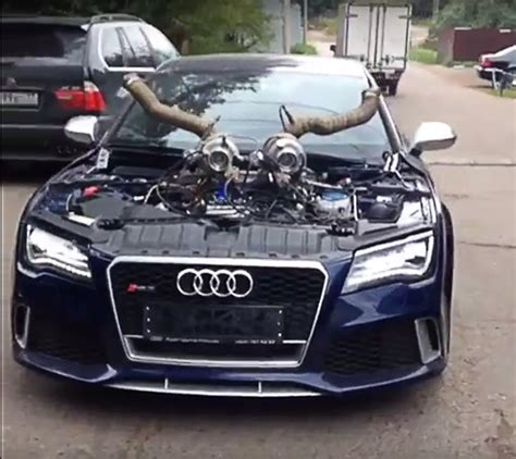 Toyota Tuning Companies The Most Audi Rs7 Comes From Russia Carz Tuning