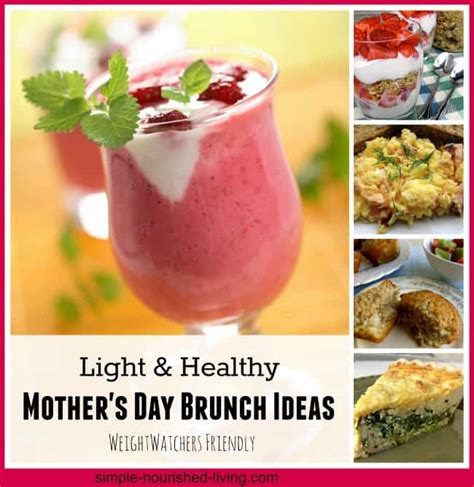 Brunch For S Day Weight Watchers S Day Brunch Recipes With Points
