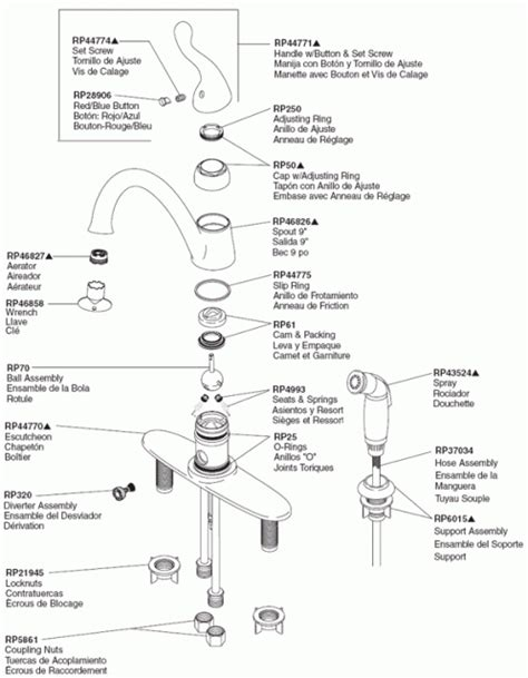 kitchen amusing moen single handle kitchen faucet repair diagram kitchen amusing moen single handle kitchen faucet repair
