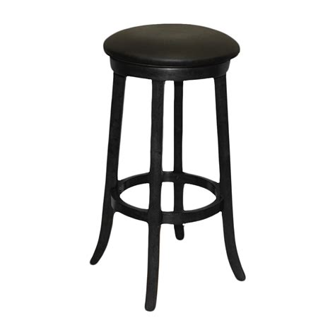 imperial bar stool black