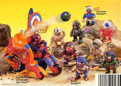 the mad toy madballs child of the 1980 s