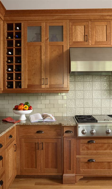 wood kitchen cabinets just one way to feature natural material cherry wood cabinets backsplash pictures of kitchens