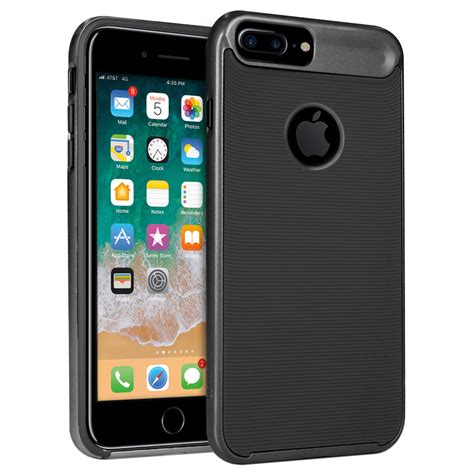 orzly airframe bumper iphone 8 plus 7 plus black