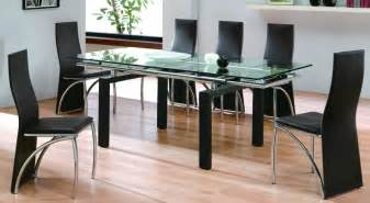 Glass Top Tables Dining Room Favorite 26 Pictures Wooden Dining Table Designs With Glass Top Dining Decorate