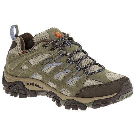 s merrell 174 moab waterproof low hiking shoes dusty