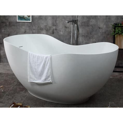 freestanding stone resin bathtubs free standing stone resin bathtub