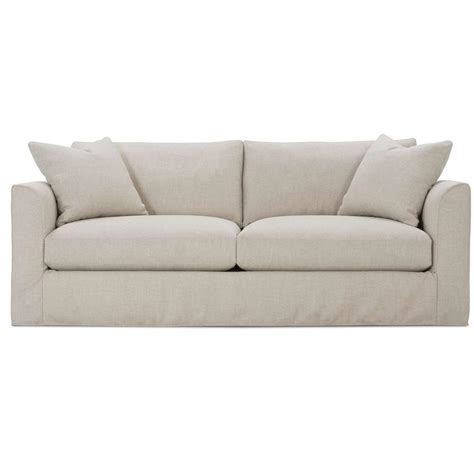 White Slipcovered Sofa by Danny Modern Classic Bone White Slipcovered Sofa Kathy