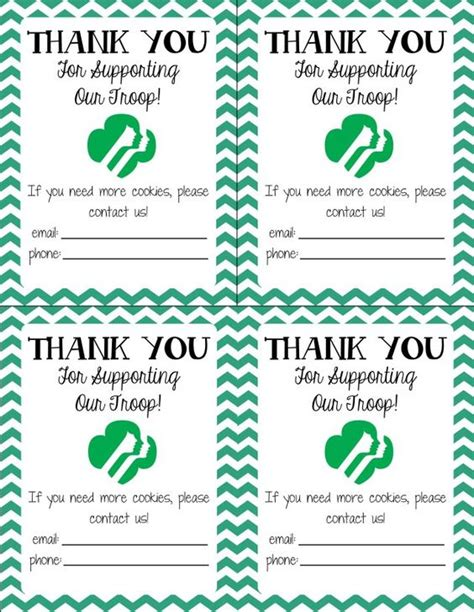 scouts thank you notes and scouts on