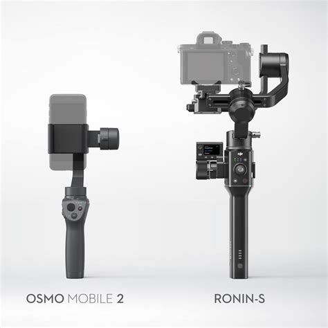 Dji Osmo Stabilizer Dji Unveils New Handheld Stabilizers At Ces 2018