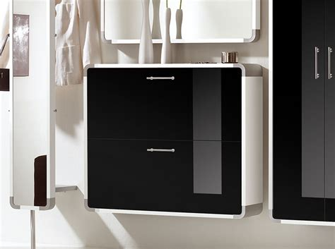 contemporary shoe storage cabinet black indra 2 door modern shoe cabinet in choice of wood high
