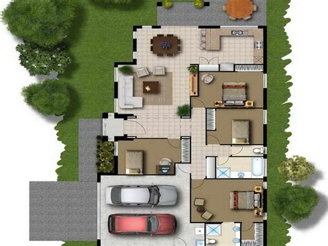 play free online home design story floor layout plan modern house
