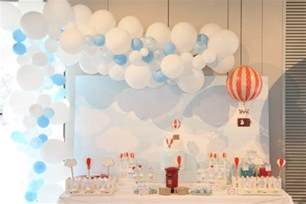 Around The World Decorations Air Balloon Themed Party Anders Ruff Custom Designs Llc