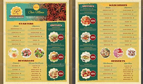 restaurants menu design templates 45 menu design projects for creative restaurants