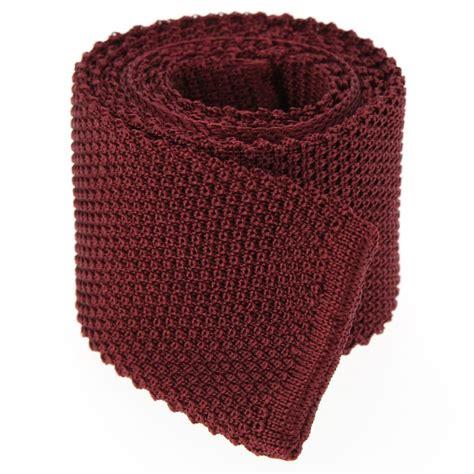 burgundy knit tie burgundy knit tie knitted tie tie the house of ties