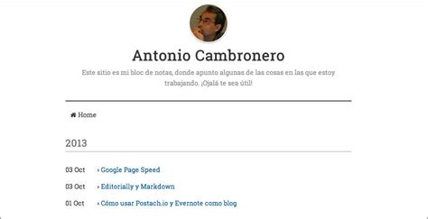 host a blog on dropbox with calepin crea un blog con postach io y evernote blogpocket