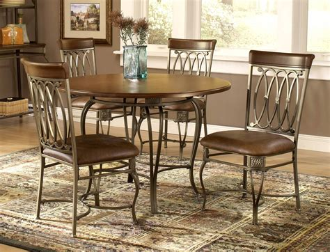 Awesome Kitchen Metal Kitchen Table Sets With Home