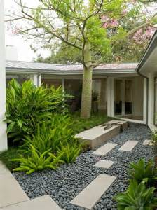 contemporary landscaping fascinating river rock landscaping pictures contemporary landscape with cut stone and grey