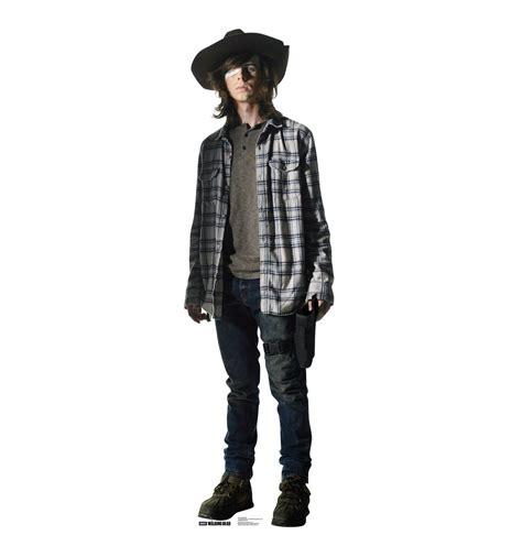 The Walking Dead Carl Grimes Poncho size carl grimes the walking dead cardboard standup