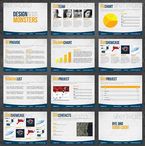 20 Best Business Keynote Presentation Templates Company Presentation Template Free