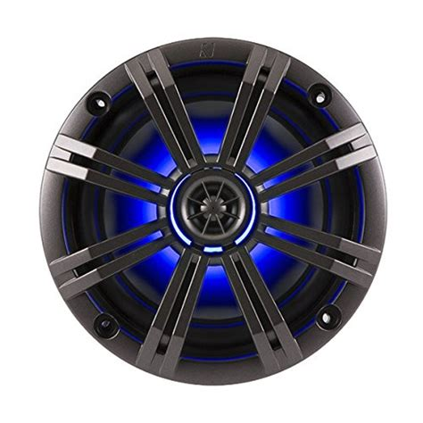 Promo Wedges Kicker Gv12 kicker 6 5 quot charcoal led marine speakers qty 4 2 pairs of oem replacement speakers prodotalk
