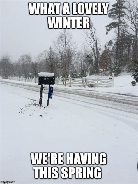 Memes About Winter - springter wonderland imgflip