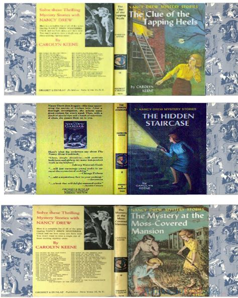 book printouts nancy drew book set printables american ideas