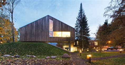 Building A House gallery of tartu nature house karisma architects 3