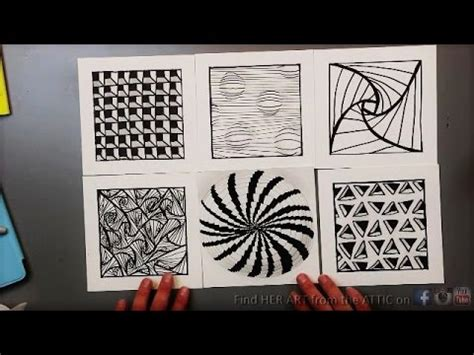 sketch pattern vs feature pattern 6 optical illusion drawing techniques patterns youtube