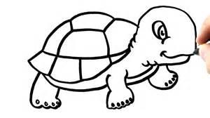 comment dessiner une tortue