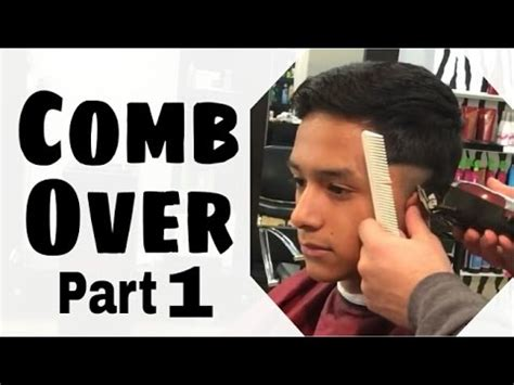 how to do a combover combover haircut tutorial how to do a comb over haircut