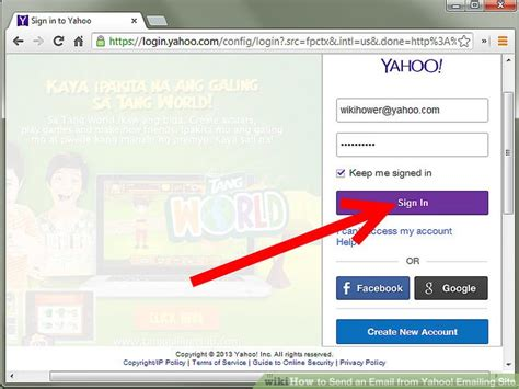 yahoo email just disappeared how to send an email from yahoo emailing site 6 steps