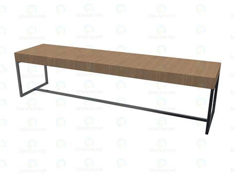 3d bench 3d model bench tas180p manufacturer b b italia id 14003