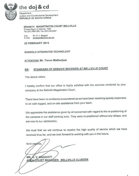 business letter format south africa retrenchment letter format the best letter sle