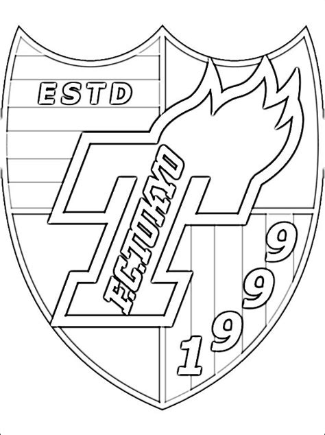 Football Logo Coloring Pages college football logo coloring pages coloring pages