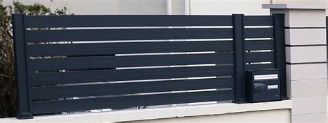 cloture jardin aluminium cloture aluminium prix identique au claustra composite claustra bois