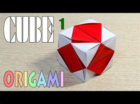 How To Fold A Cube Origami - 1000 images about origami cubes on origami