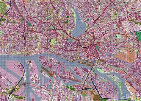 printable map hamburg large hamburg maps for free download and print high