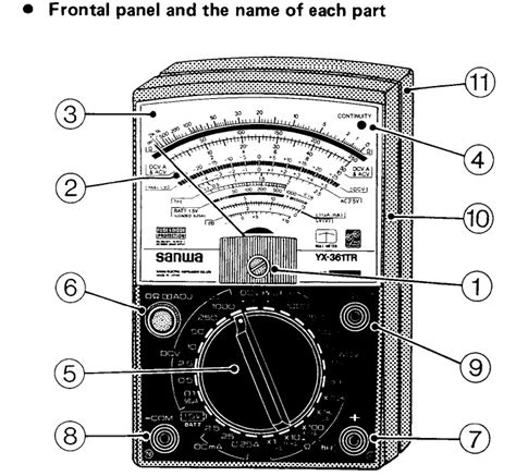 Multitester Manual how to use and read a multimeter free cellphone repair tutorials