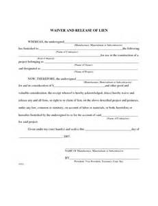 Lien On House by Best Photos Of Homeowners Lien Release Form