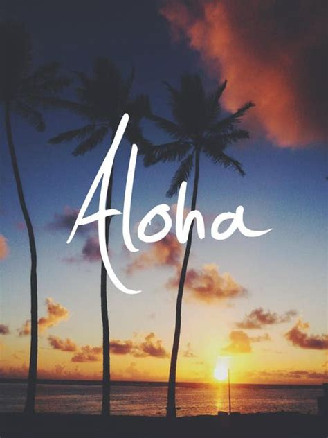 wallpaper tumblr aloha it s all about the aloha waikoloa hawaii pinterest