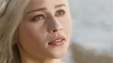 emilia clarke game of thrones game of thrones daenerys targaryen makeup tutorial beausic